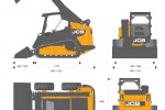 JCB 225T 260T 300T 320T Compact Track Loader