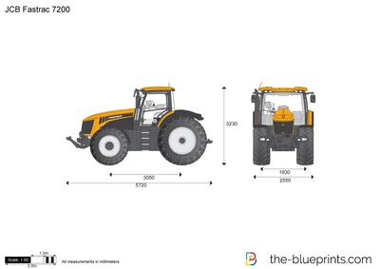 JCB 7200 Fastrac