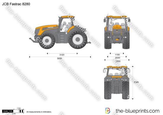 JCB 8280 Fastrac