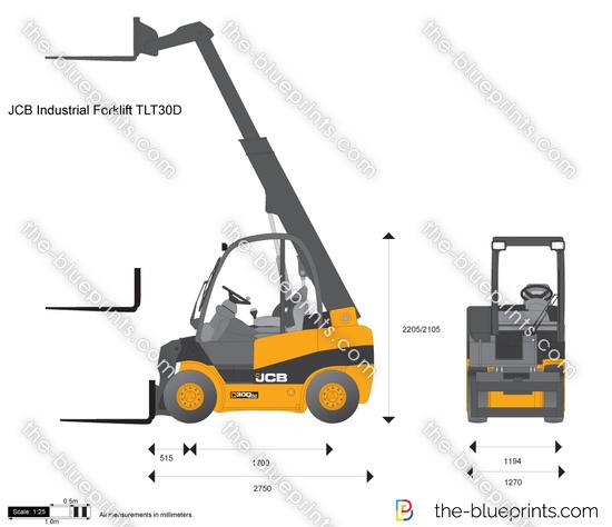 JCB TLT30D Industrial Forklift