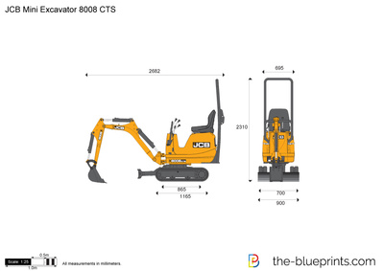 JCB 8008 CTS Mini Excavator