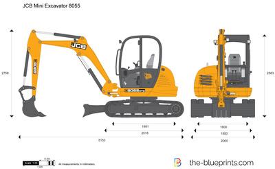 JCB 8055 Mini Excavator