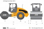 JCB VM115 Single Drum Roller