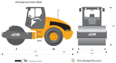 JCB VM200 Single Drum Roller