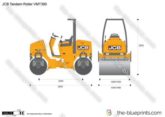 JCB VMT390 Tandem Roller
