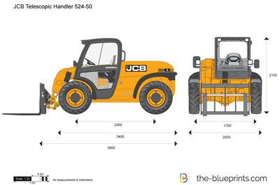 JCB 524-50 Telescopic Handler