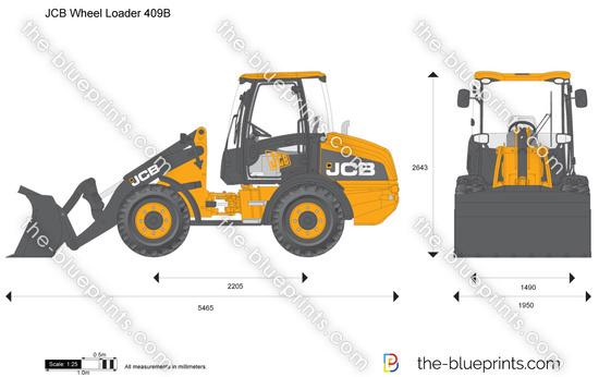 JCB 409B Wheel Loader