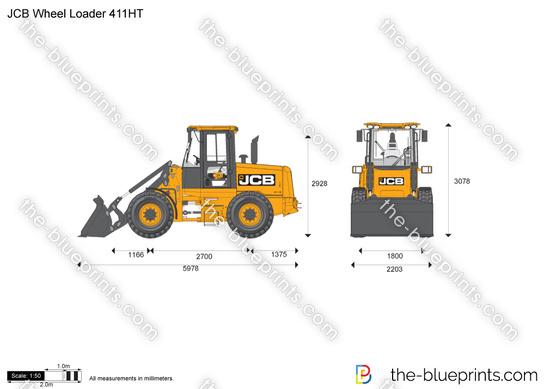 JCB 411HT Wheel Loader