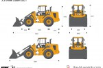 JCB 426ZT Wheel Loader
