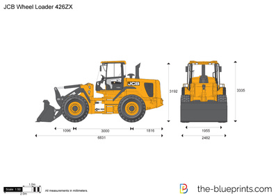 JCB 426ZX Wheel Loader
