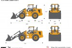 JCB 436HT Wheel Loader