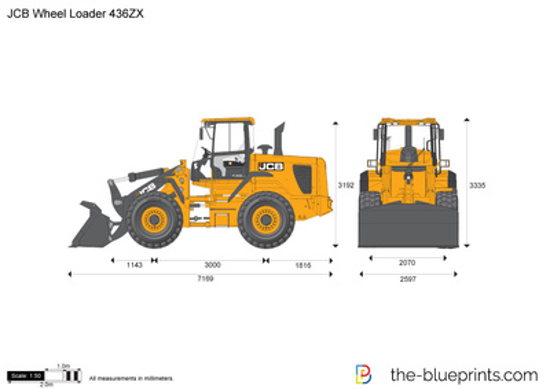 JCB 436ZX Wheel Loader