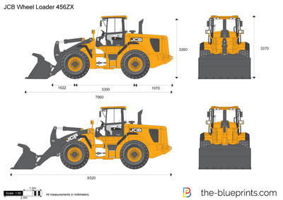 JCB 456ZX Wheel Loader