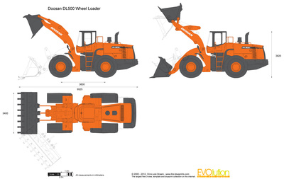 Doosan DL500 Wheel Loader