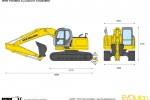 New Holland E225BSR Excavator