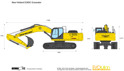 New Holland E385C Excavator