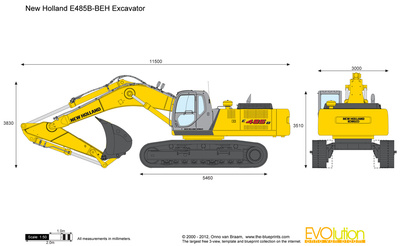 New Holland E485B-BEH Excavator