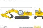 New Holland E485B-BEH Excavator