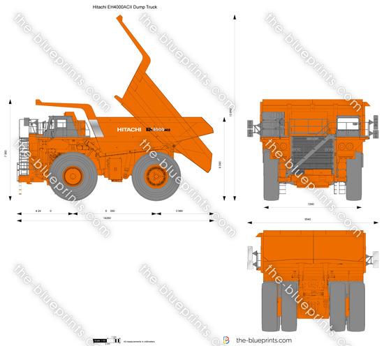 Hitachi EH4000ACII Dump Truck