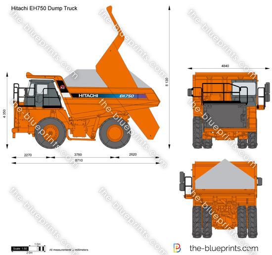 Hitachi EH750 Dump Truck