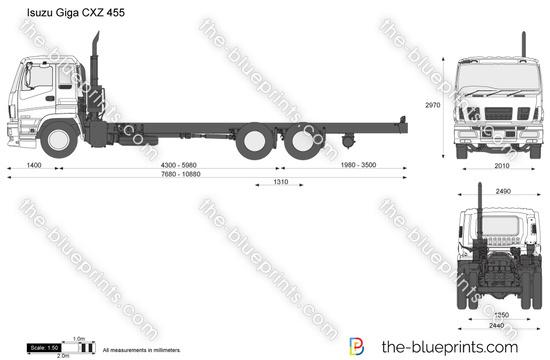 Isuzu Giga CXZ 455