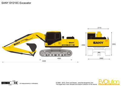 SANY SY210C Excavator
