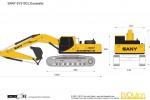 SANY SY310CL Excavator