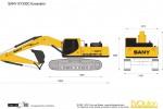 SANY SY330C Excavator