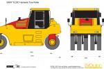 SANY YL25C Hydraulic Tyre Roller