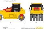 SANY YL26C Hydraulic Tyre Roller