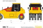 SANY YL28C Hydraulic Tyre Roller