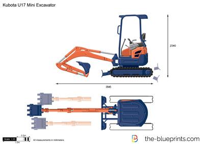 Kubota U17 Mini Excavator
