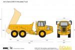 John Deere 250D-II Articulated Truck