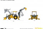 John Deere 310J Backhoe Loader