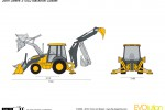 John Deere 310SJ Backhoe Loader
