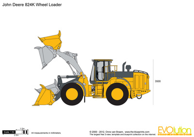 John Deere 824K Wheel Loader