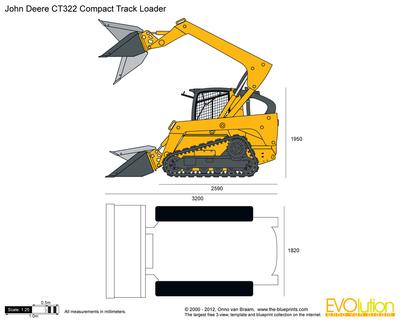 John Deere CT322 Compact Track Loader