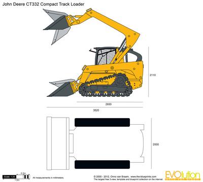 John Deere CT332 Compact Track Loader