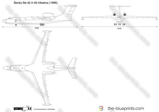 Beriev Be-42 A-40 Albatros