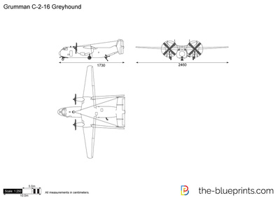 Grumman C-2-16 Greyhound