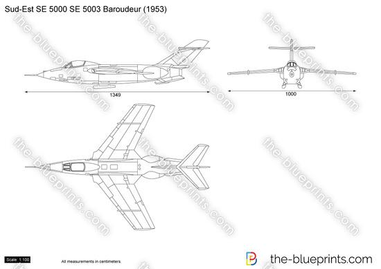 Sud-Est SE 5000 SE 5003 Baroudeur
