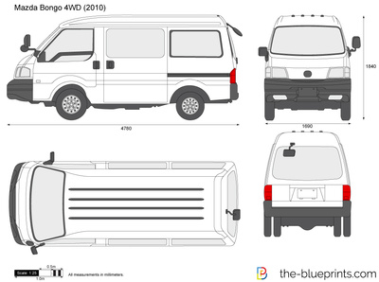 Mazda Bongo 4WD