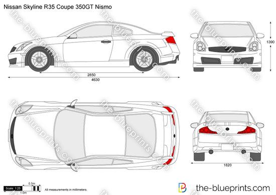 Nissan Skyline R35 Coupe 350GT Nismo