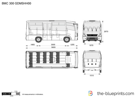 BMC 300 GDMSHH00