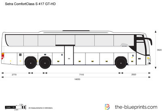 Setra ComfortClass S 417 GT-HD
