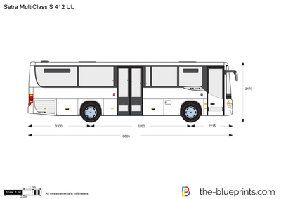 Setra MultiClass S 412 UL