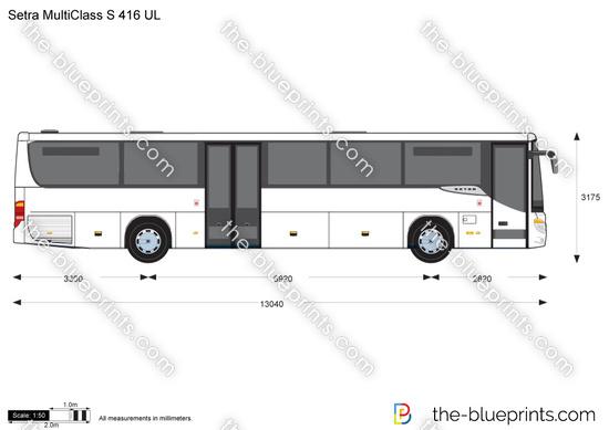Setra MultiClass S 416 UL