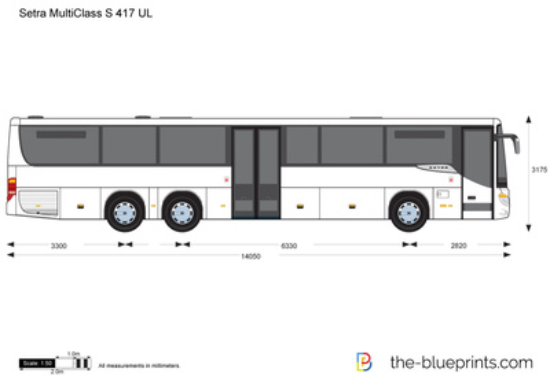 Setra MultiClass S 417 UL
