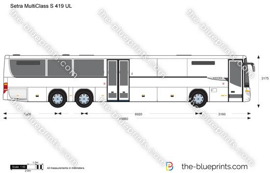 Setra MultiClass S 419 UL