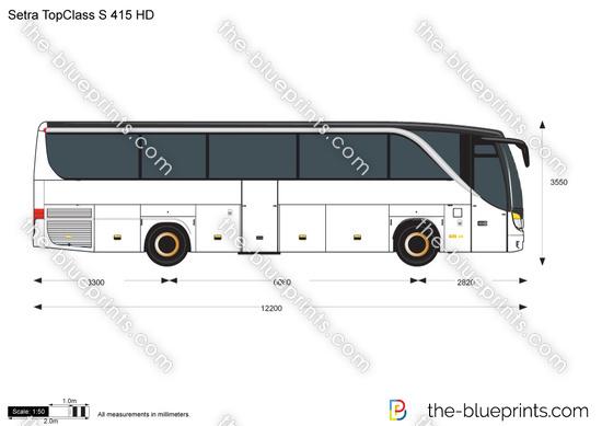 Setra TopClass S 415 HD